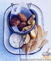 Фото к рецепту: Котлетки из нута (турецкого гороха)