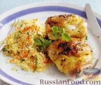 Фото к рецепту: Куриные бедрышки с имбирем и соком лайма