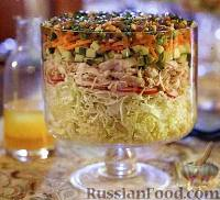 Фото к рецепту: Вьетнамский салат с курицей