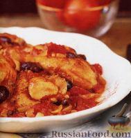 Фото к рецепту: Курица по-провански