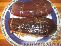 Фото к рецепту: Баклажаны, фаршированные овощами
