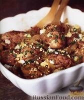 Фото к рецепту: Куриная печень с луком и мадерой
