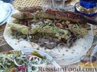 Фото к рецепту: Люля-кебаб из картофеля