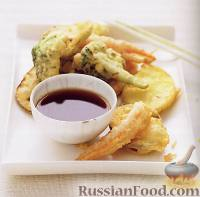 Фото к рецепту: Темпура из овощей