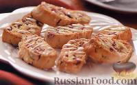 Фото к рецепту: Бискотти с клюквой и фисташками