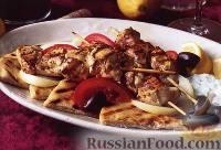 Фото к рецепту: Сувлаки из курицы