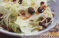 Фото к рецепту: Салат из капусты и фенхеля