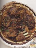 Фото к рецепту: Таджин из баранины