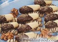 Фото к рецепту: Праздничное песочное печенье