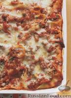 Фото к рецепту: Ракушки с сыром