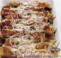 Фото к рецепту: Энчилада с курицей и сыром