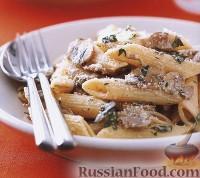 Фото к рецепту: Пенне с грибами