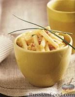 Фото к рецепту: Макароны с сыром и панчеттой