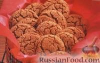 Фото к рецепту: Сахарное печенье на растительном масле