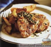 Фото к рецепту: Курица под прованским соусом
