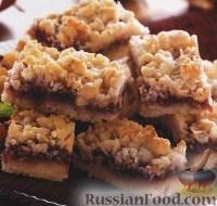 Фото к рецепту: Пирог с кокосом и малиной