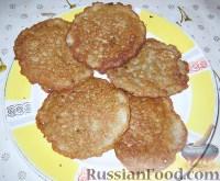 Фото к рецепту: Драники (картофельные оладьи)