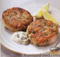 Фото к рецепту: Котлетки из картофеля и лосося