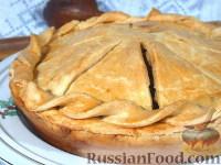 Фото к рецепту: Валлийский куриный пирог