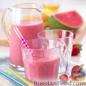 Фото к рецепту: Фруктово-йогуртный коктейль (смузи)