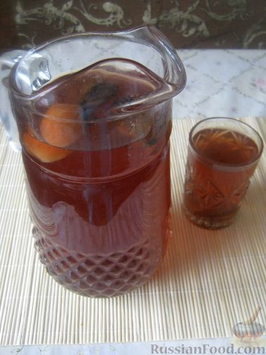Рецепт Узвар (компот из сухофруктов)