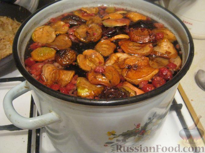 Как приготовить компот из сухофруктов пошагово