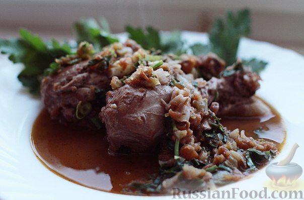 Рецепт Чахохбили из кур