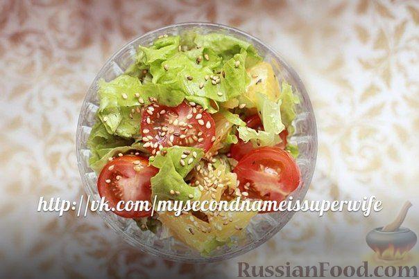 Как сделать салат с помидорами черри