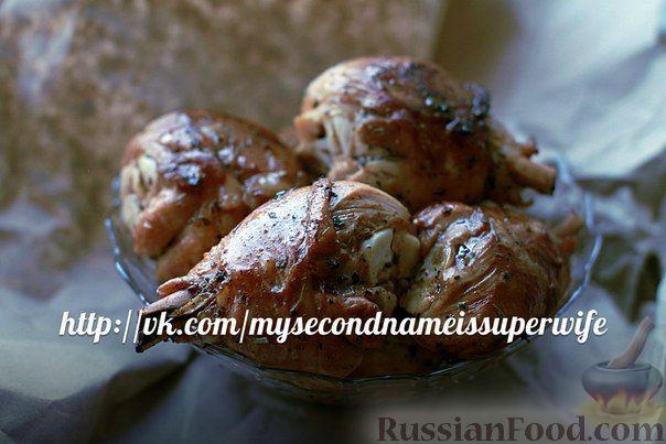 Рецепт Ароматные куриные ножки