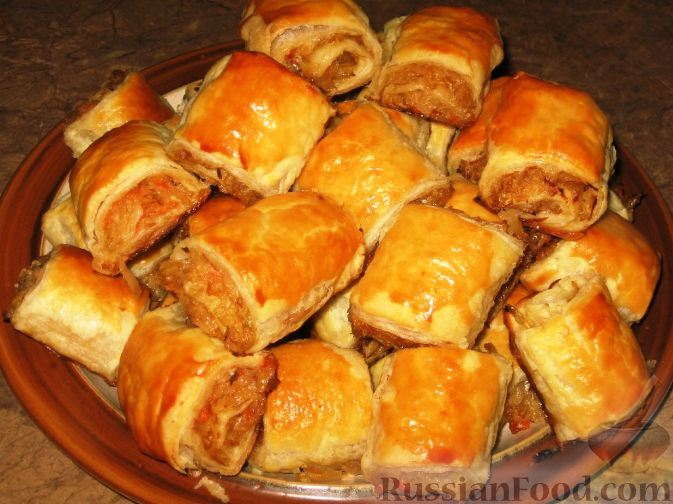 Рецепт Пирожки-рулетики