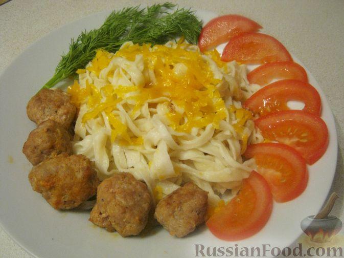 домашняя лапша с мясом рецепт с фото