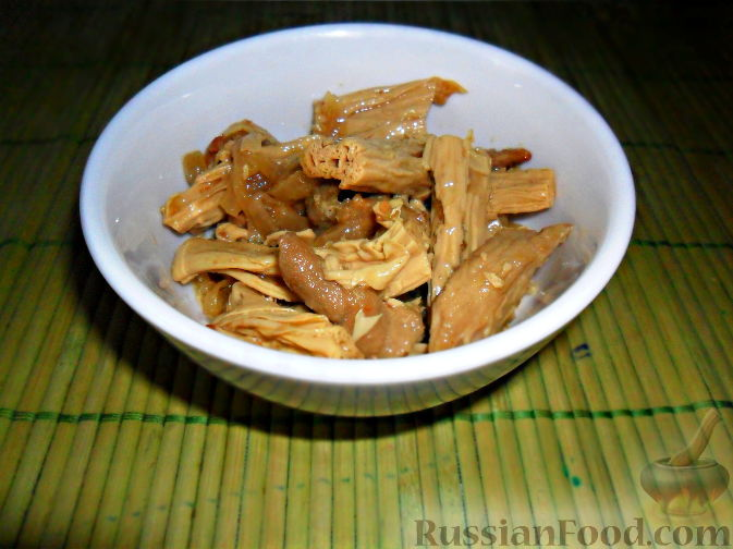 Рецепт Спаржа по-корейски