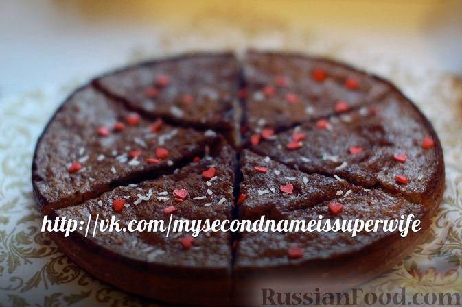 Рецепт Шоколадный пирог с манкой