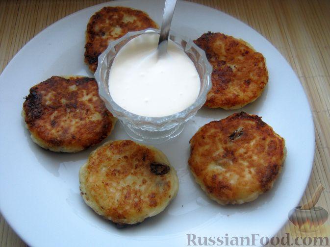 Рецепт Сырники по-домашнему