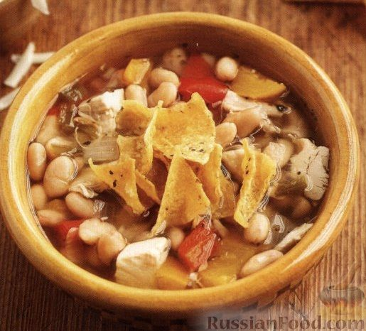 Рецепт Фасолевый суп в медленноварке