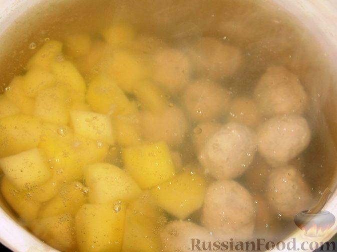 Фото приготовления рецепта: Суп харчо из свинины - шаг №7