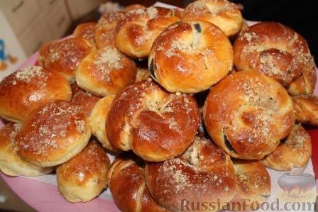 Рецепт Булочки с маком (рецепт для хлебопечки)