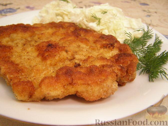 Рецепт Ромштекс из свинины