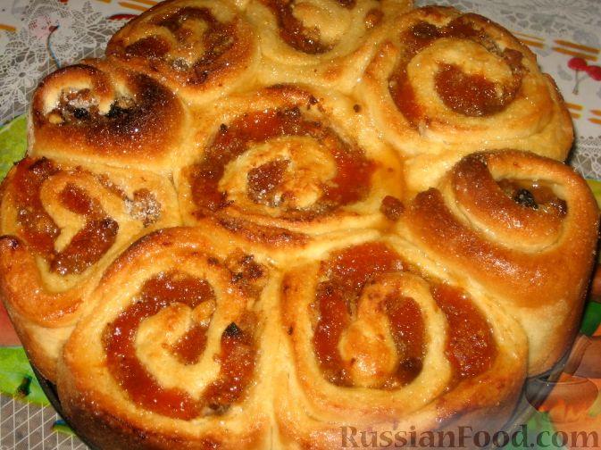 Рецепт Пирог с абрикосовым вареньем