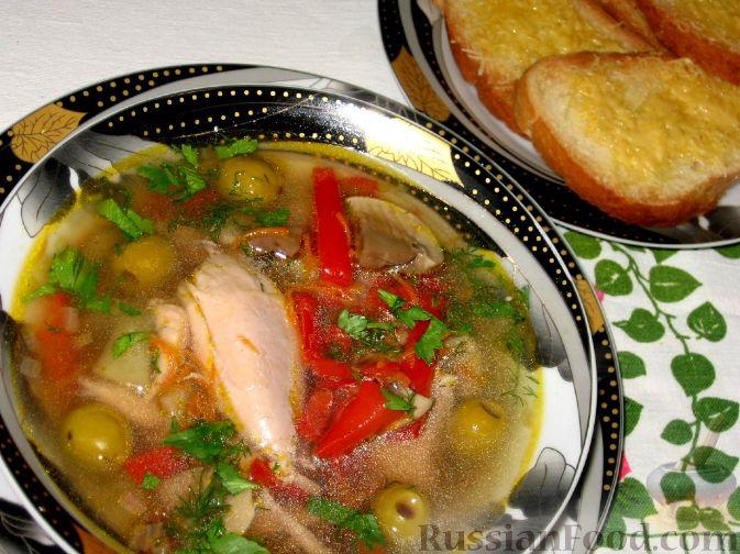 Рецепт Куриная похлебка по-черногорски