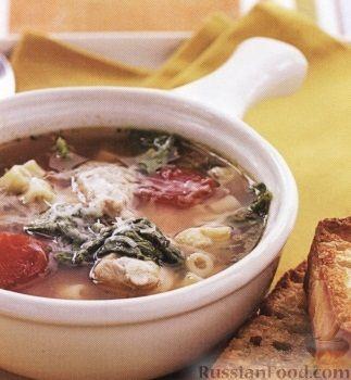 Рецепт Флорентийский куриный суп