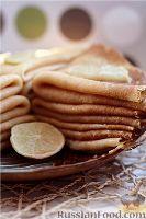 Простые рецепты блинов с фото