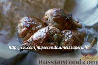 Фото к рецепту: Ароматные куриные ножки