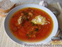 Фото к рецепту: Московский борщ со свеклой