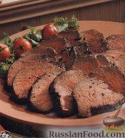 Фото к рецепту: Говяжье филе, жаренное на гриле