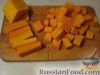 Фото приготовления рецепта: Каша из тыквы с рисом - шаг №2
