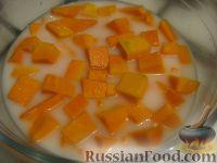 Фото приготовления рецепта: Каша из тыквы с рисом - шаг №4