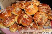 Фото к рецепту: Булочки с маком (рецепт для хлебопечки)