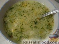 Фото к рецепту: Венецианский рисовый суп