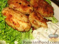 Фото к рецепту: Рыбные зразы с грибами